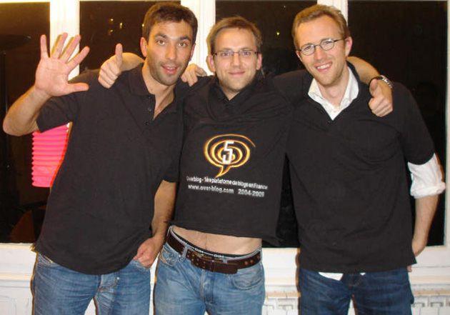 2004-2009 : Overblog fête ses 5 ans. Une soirée pas comme les autres...