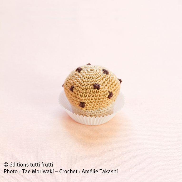 Voici les créations d'Amélie Takashi dans son livre Crochet gourmand.Photos de Tae Mariwaki