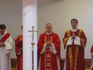 Ordination par Mgr di Falco