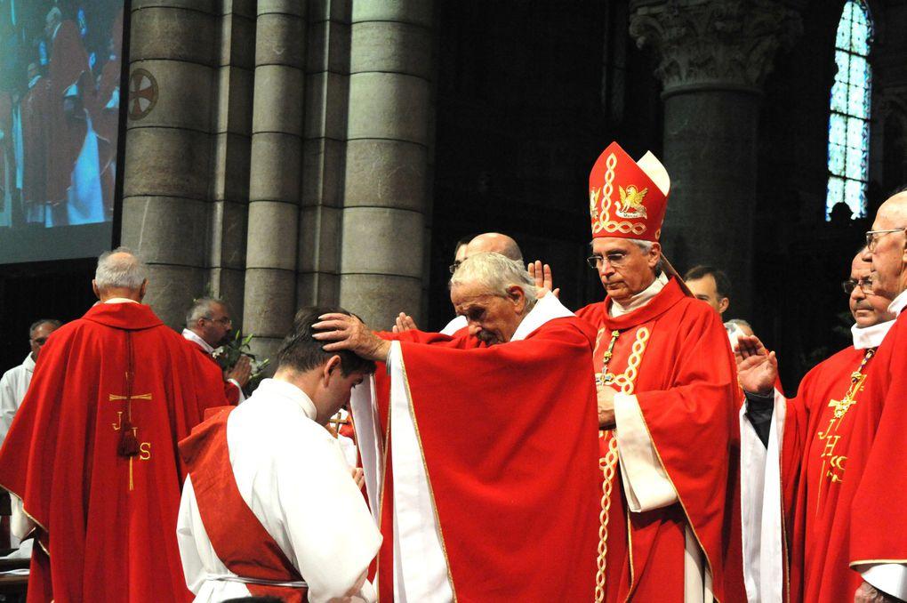 Ordination sacerdotale de Charles Troesch