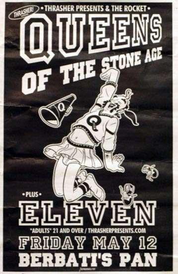 De nombreuses affiches des Concerts de Queens of the stone age.Plus belles les unes que les autres..et aussi des wallpaper fond d'écran