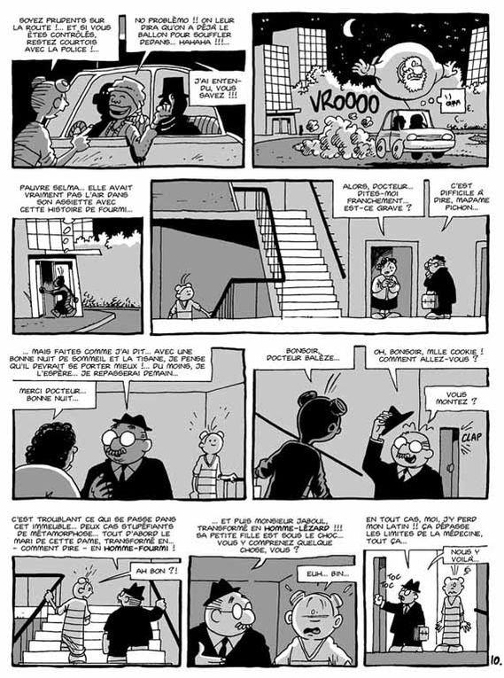 Textes et dessins : Fich.Année de sa création : 2001.