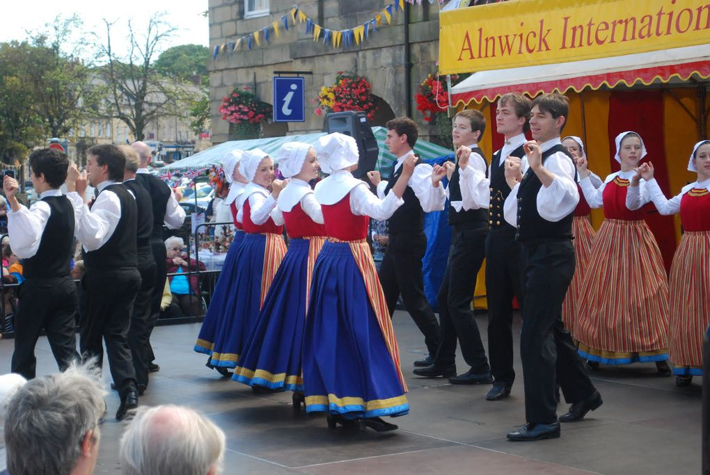 Festival d'Alnwick, Angleterre, 29 juillet - 6 août 2011.