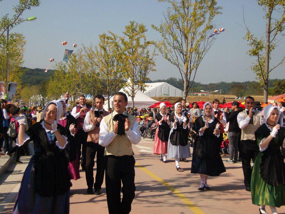 Quelques photos en provenance de Corée, à l'occasion des Folkloriades mondiales du CIOFF. Merci aux danseurs et musiciens de l'Ensemble Musique et Danse du CIOFF pour leurs photos. Un merci particulier à Anaïs, Fanny, Vincent, Yann-Fañch et la B