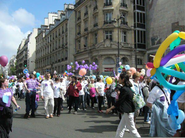 Album - La marche des plaquettes Paris 2008