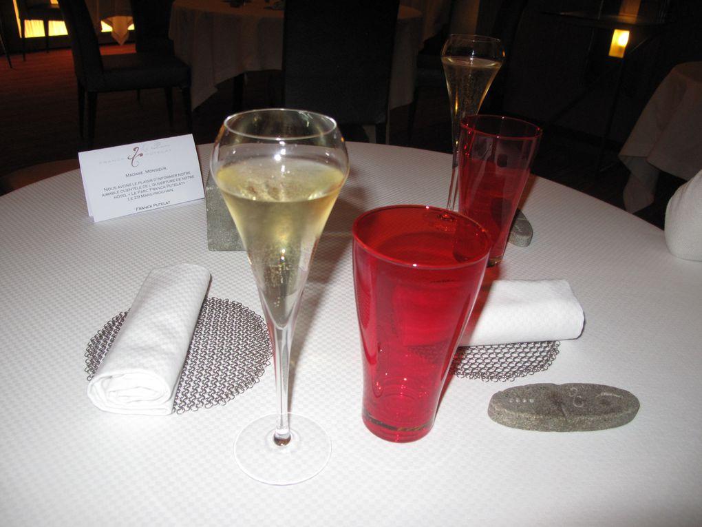 Repas chez Putelat deux étoiles Michelin