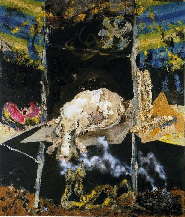 peintures de Paul Rebeyrolle