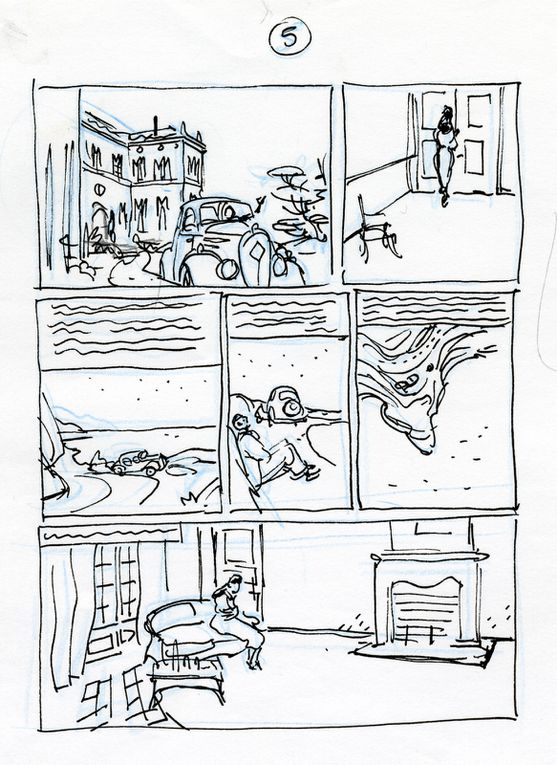 storyboards Pour Amours Fragiles (circa 2002)