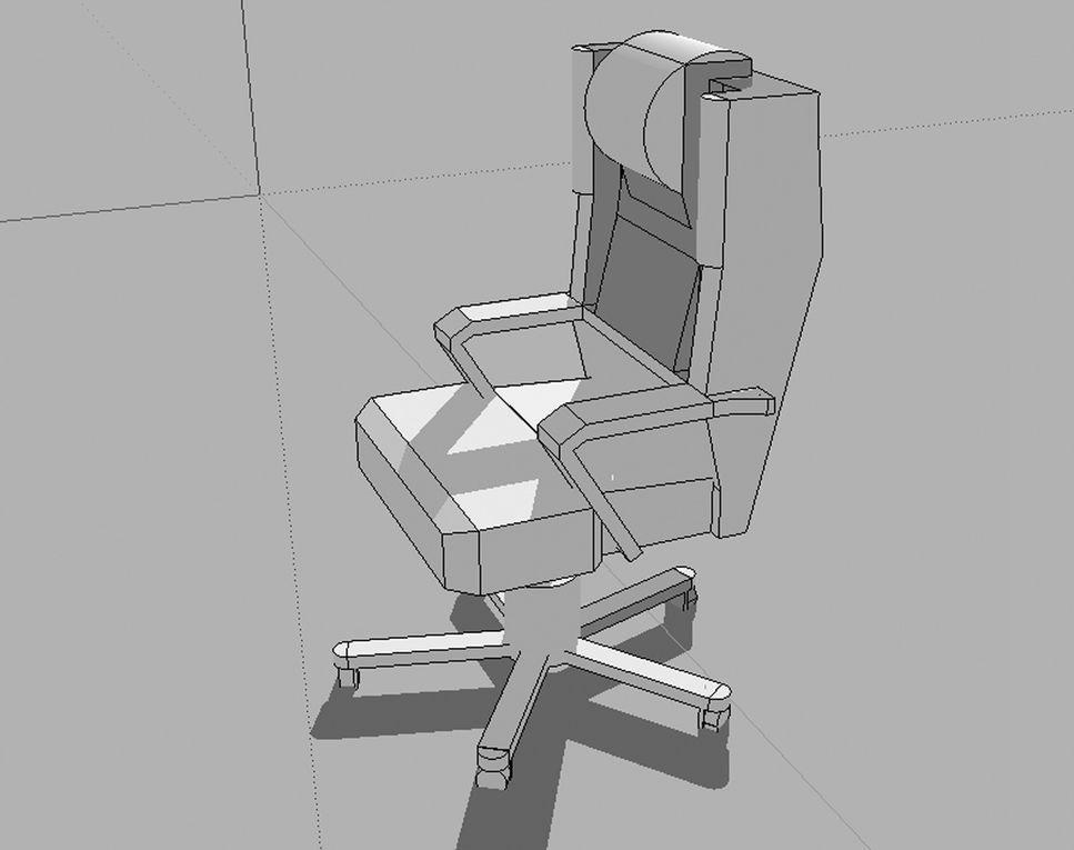 Travaux préparatoires avec le logiciel SketchUp