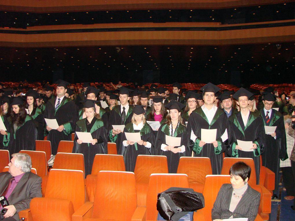 cérémonie de remise des doctorats en médecine