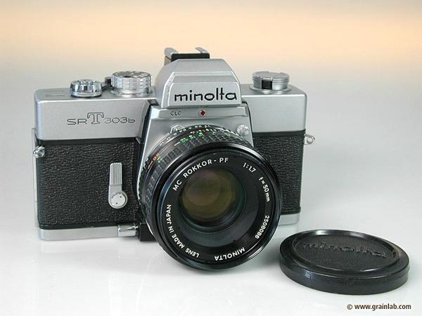 Les appareils photo des années 70 à ce jour