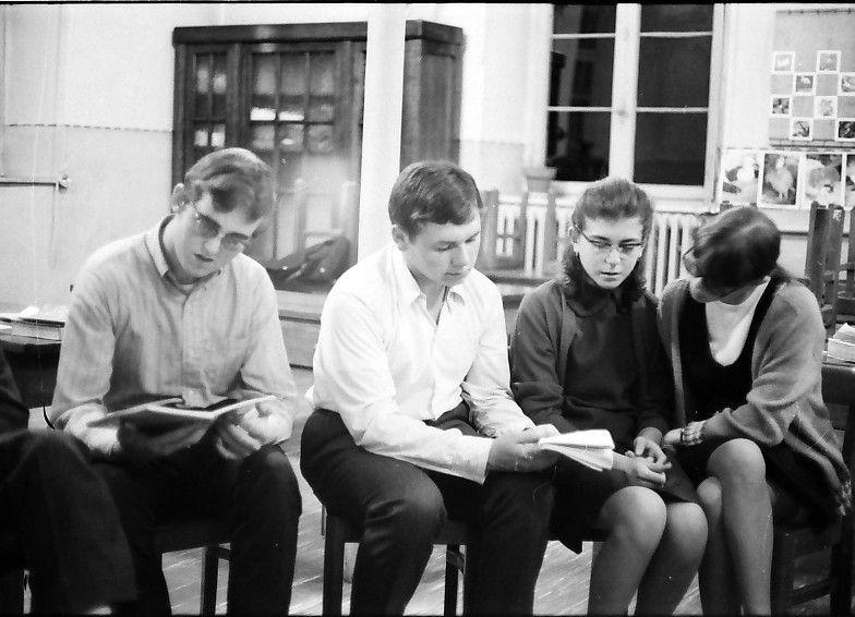 groupe de jeunes années 68-70