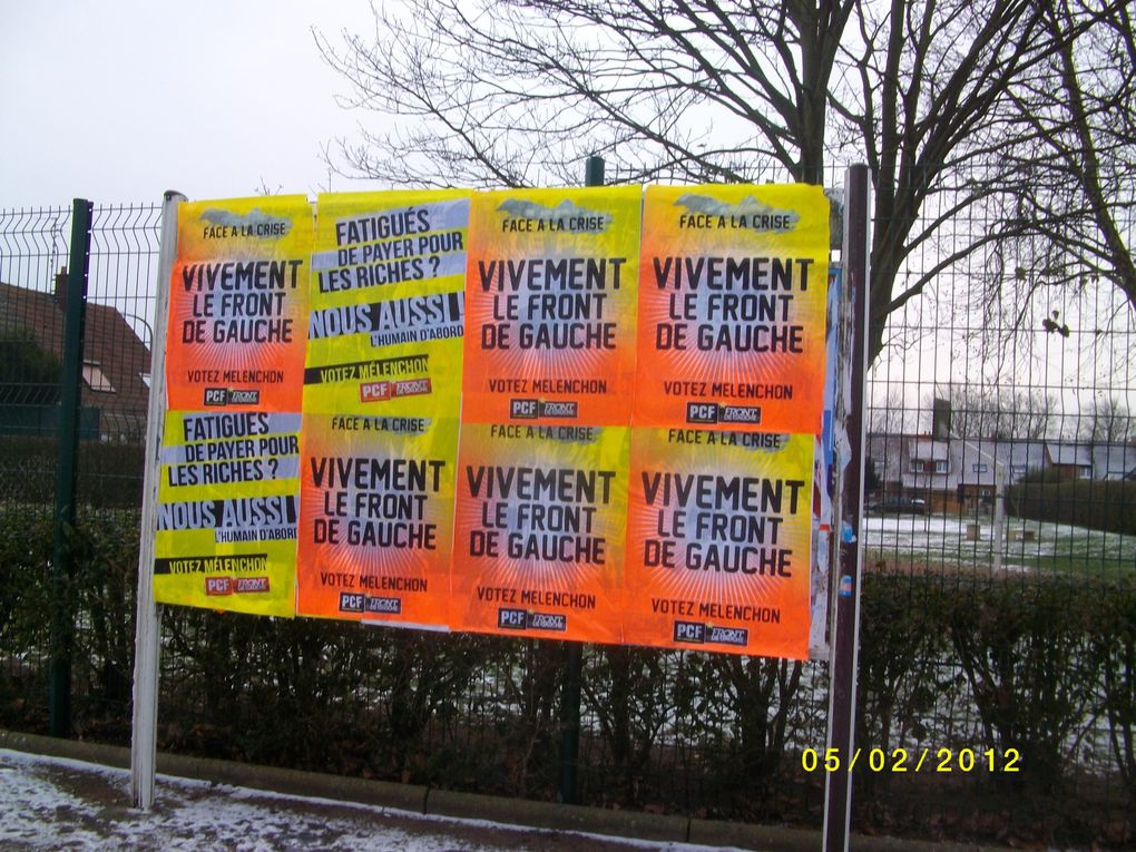 Photos de collages d'affiches