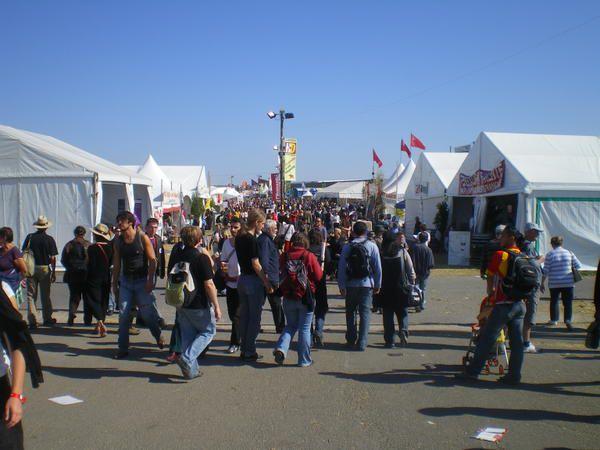 Images de la Fête de l'Humanité 2008 à La Courneuve