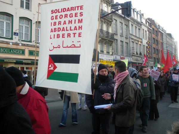 Photos de la manifestation lilloise pour la Palestine du 10/01/09