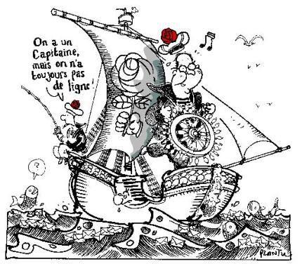 Un dossier regroupant dessins et caricatures sur des sujets d'actualit&eacute&#x3B;