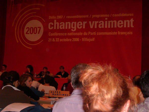 Album - Conférence Nationale 21/10/06
