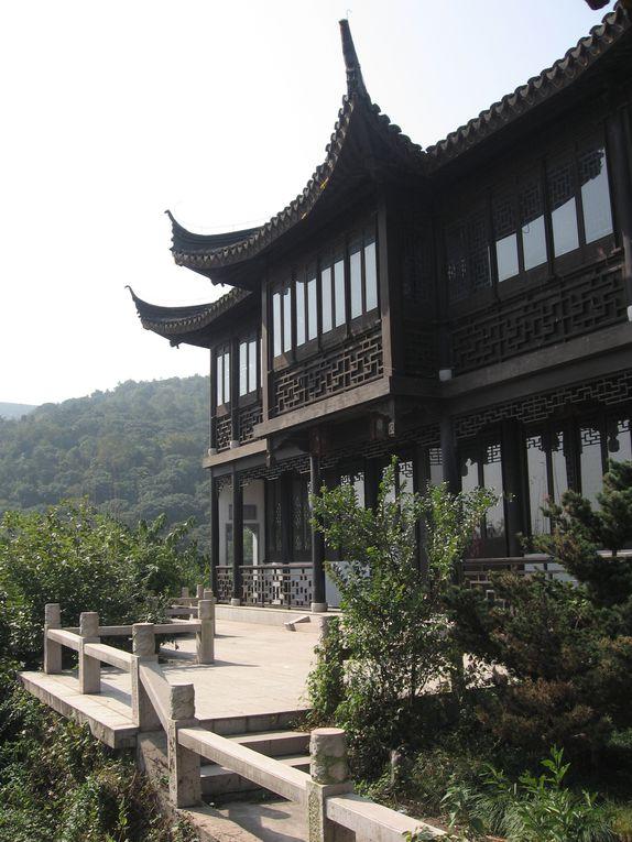 petit road trip et barbecue avec mes collèges chinois du coté du lac Taihu et des montagnes de l'Est.
