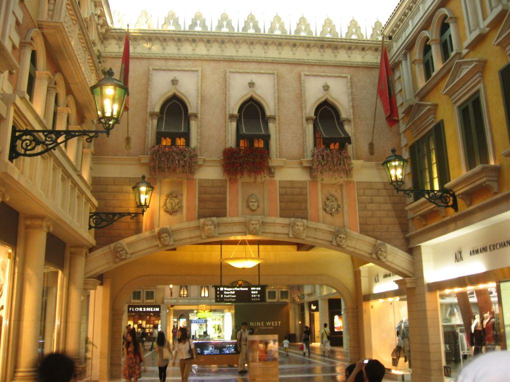 Séjour à Macau, de fin aout à début septembre 2010