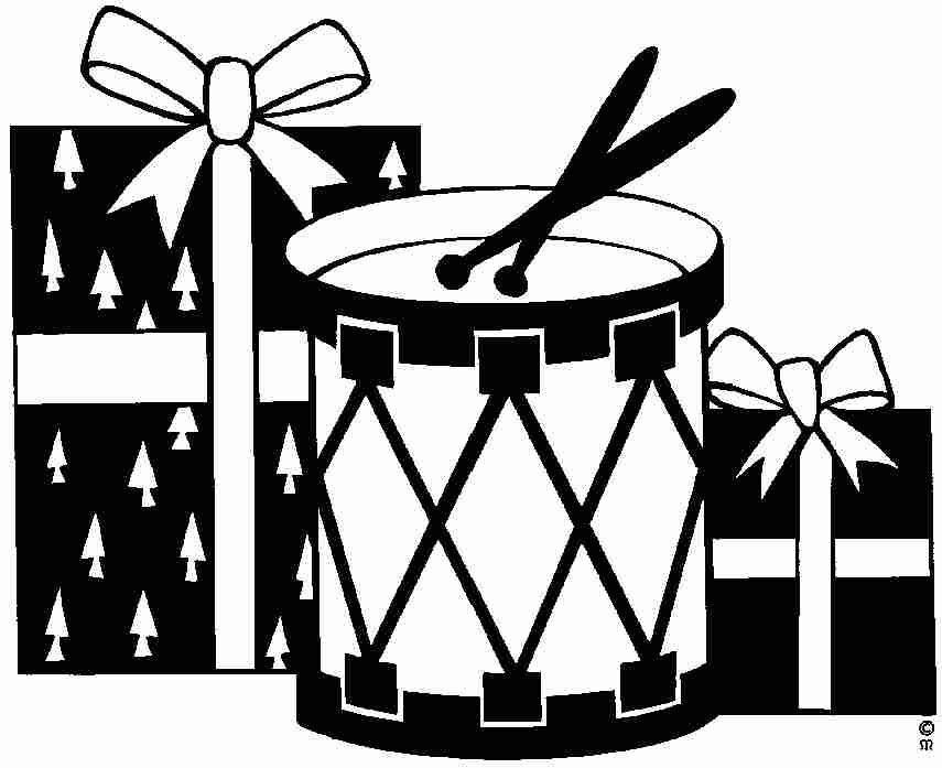 Dessins de Noël (père Noël, sapin, bonhomme de neige, guirlandes...)
