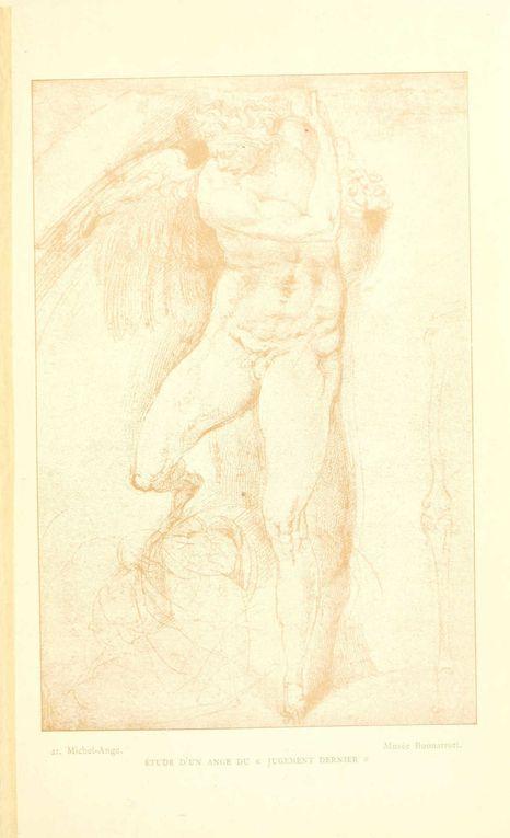 Quelques dessins et études de Michel-ange-