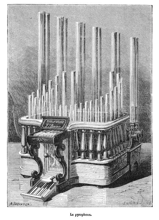 Dessins extraits de la revue Nature 1873