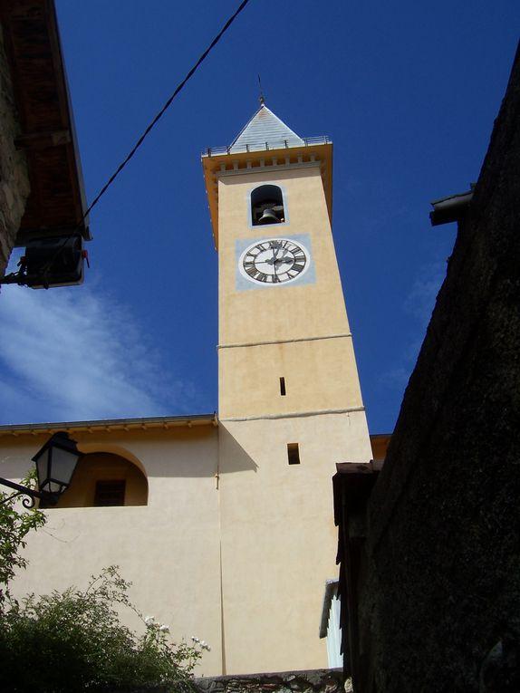Photos personnelles du patrimoine religieux, essentiellement églises et lieux de culte, des villages des Alpes-Maritimes