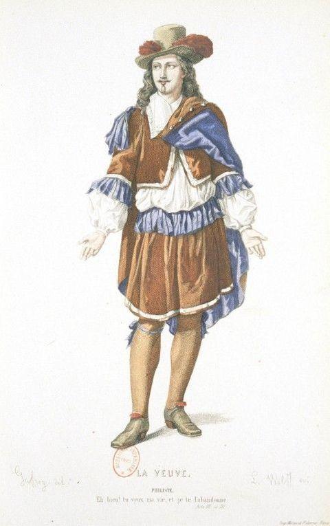 Gravures tirées de Geffroy, Illustrations des Oeuvres de Pierre Corneille_ Théâtre complethttp://gallica.bnf.fr