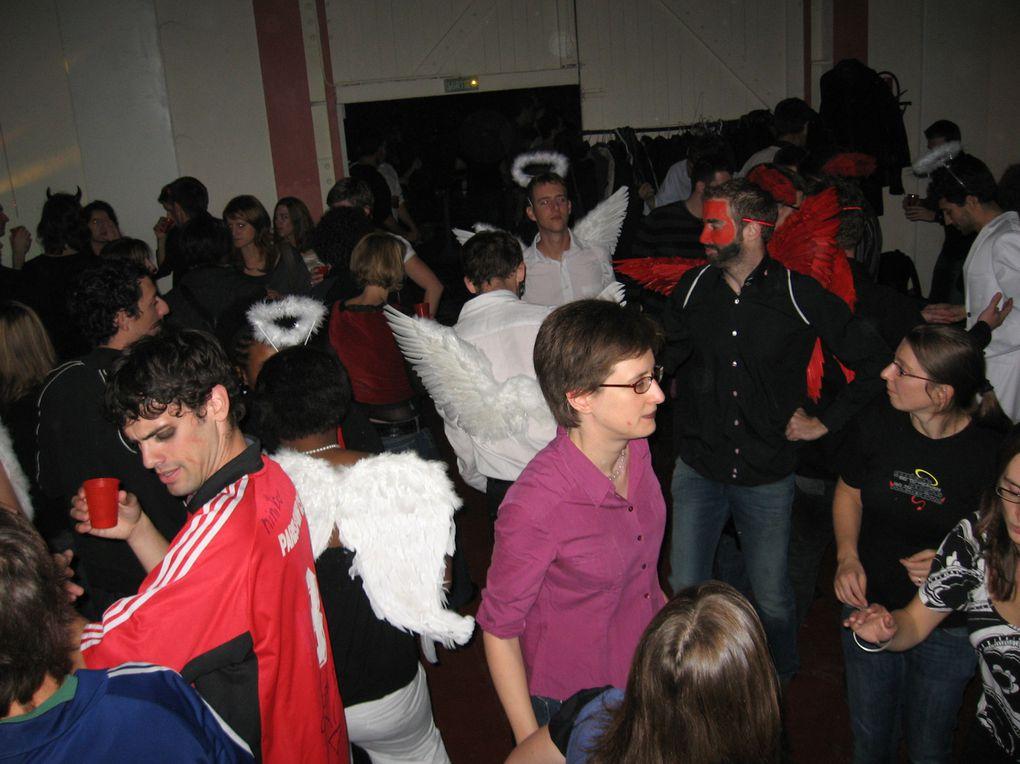 Soirée Anges & Démons du 23 octobre 2009 à la Cartoucherie de Vincennes.