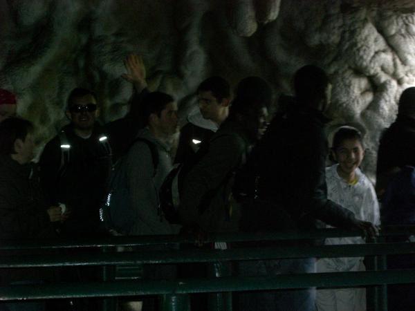Sortie du collectif barrages CF au Parc Astérix le 1er mai 08