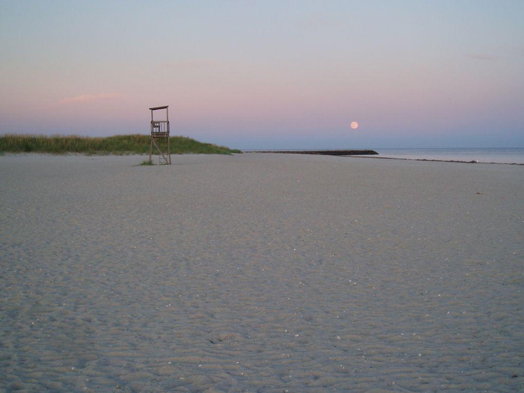 Séjour 1 semaine sept 2009 - Cape Cod - Yarmouth - Martha's vinyard - Nantucket - Boston - Sea Gull beach