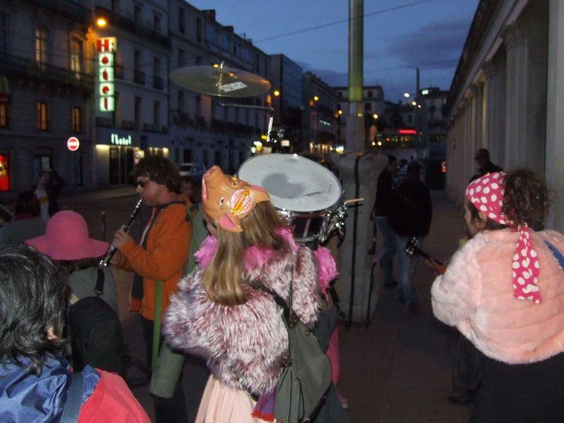 De la gare jusqu'a chez JackieRamon de retour a Montpellier...