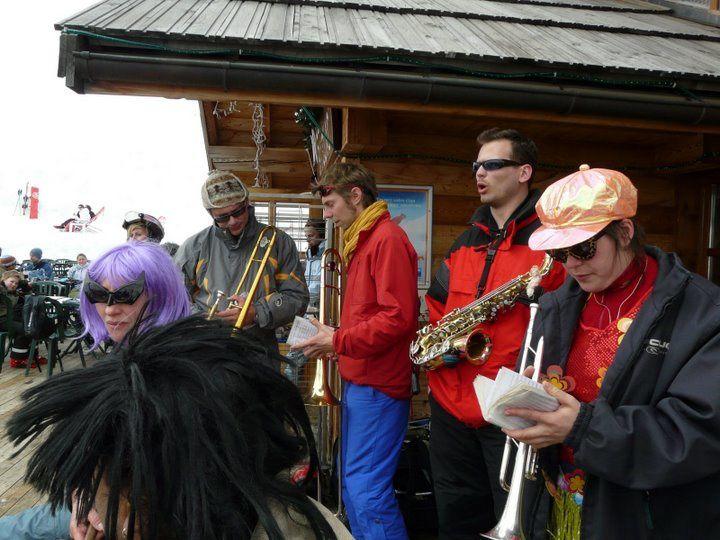Les Kadors au ski