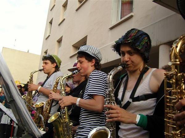 Quelques photos du 13eme festival des fanfares de Montpellier