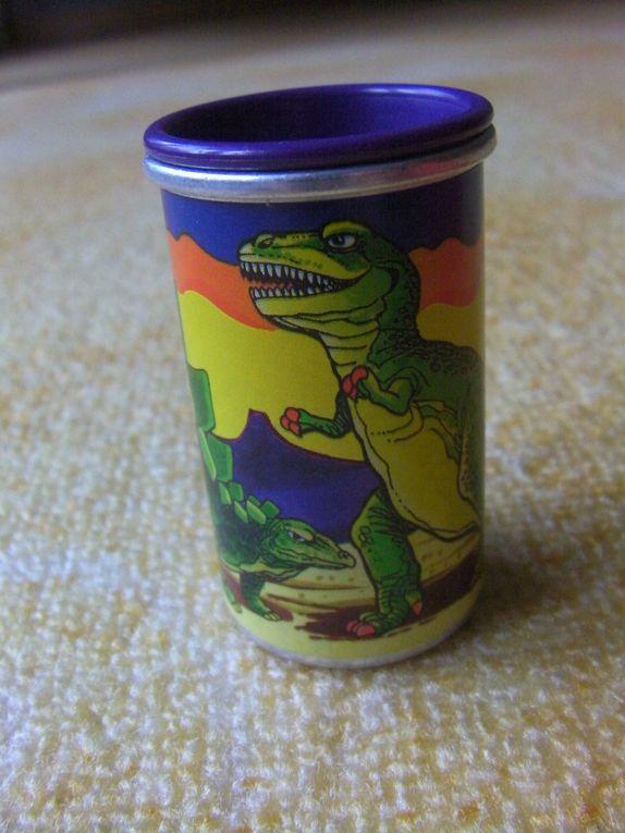 De.. Cocccinelle à dinosaure...