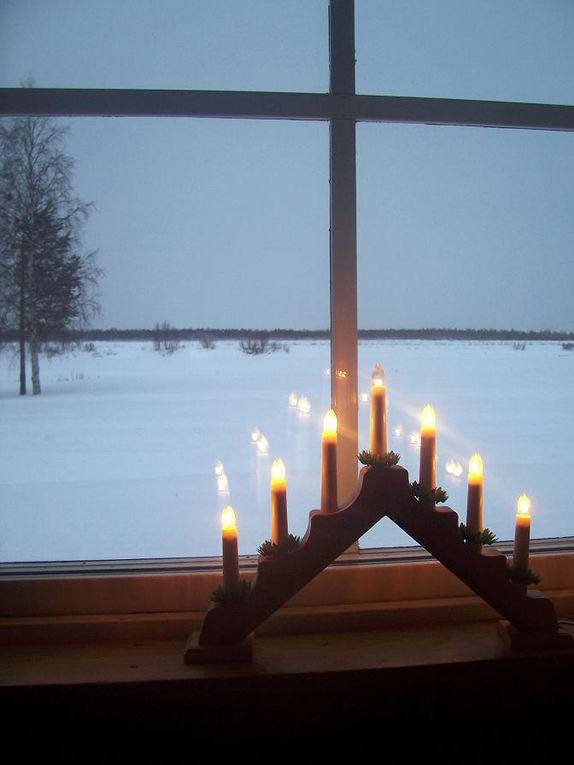 """Lorsqu'une décision """"apéritivienne"""" en 2009 se concrétise en réveillon au cercle arctique, on fête le passage à 2010 deux fois."""