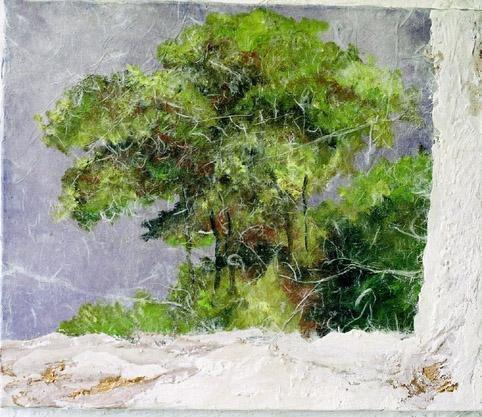"""<span style=""""font-weight: bold&#x3B;"""">Tous les arbres que j'ai peints depuis deux ans</span>"""