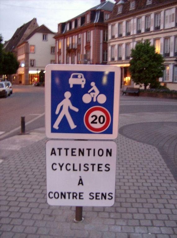 18 mai 2009 : le contre-sens cycliste s'installe à wissembourg !