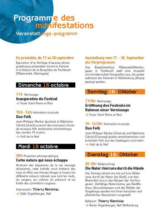 festival octobre 2011