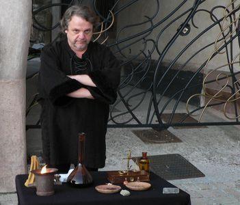 Quelques images de la troupe des Flambeaux de l'Allan lors de nos ballades sur les fêtes médiévales...