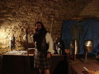 La Compagnie des Flambeaux de l'Allan a la fête des Sorcières de Chalindray