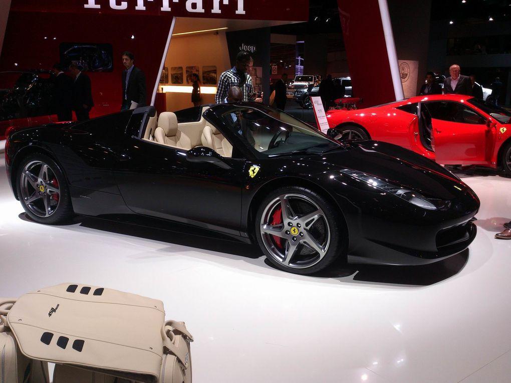 Toutes les photos du Mondial de l'auto : nouveautés, concept cars...