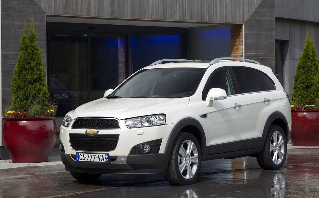 Album - Chevrolet Captiva (2011)