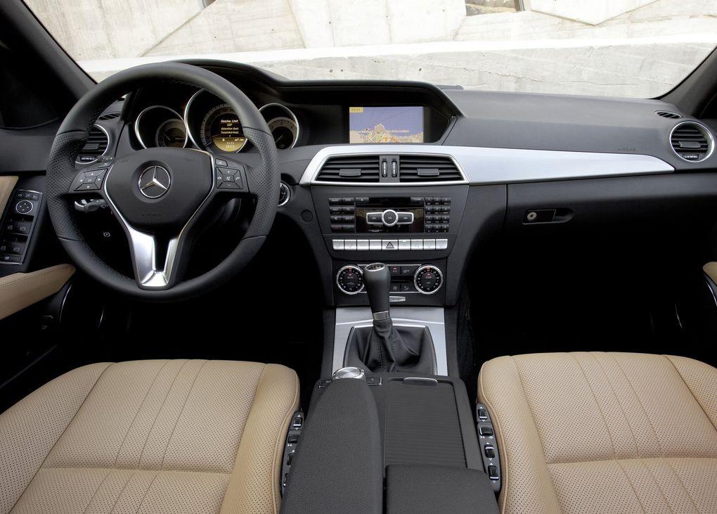 Album - Mercedes Classe C restylée (2011)