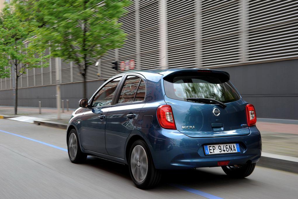 Nouveau look pour la Nissan Micra mais toujours pas de moteur diesel.