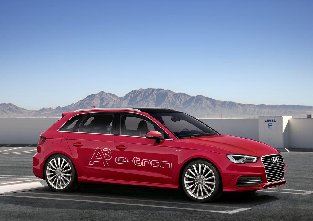 Version à moteur hybride rechargeable : 204 ch pour seulement 1,5 l/100 km.
