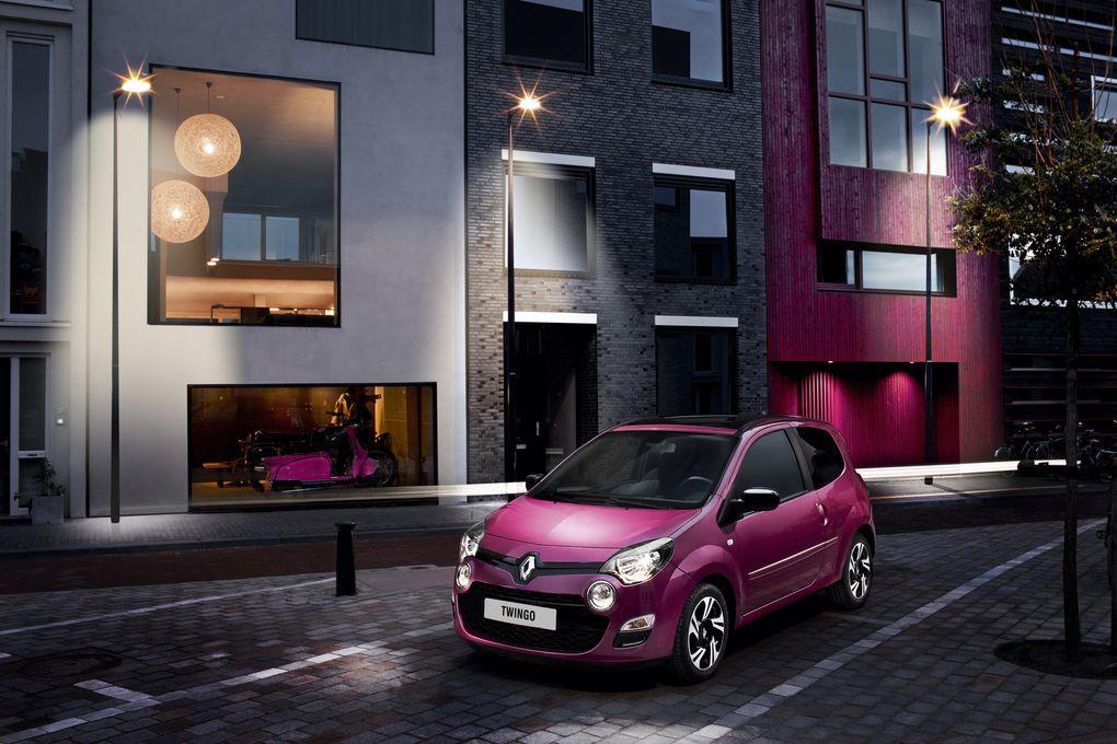 Album - Renault Twingo restylée (2012)