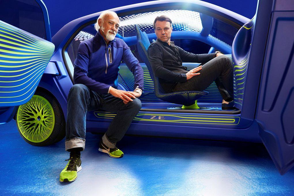 Ce concept préfigure la future Twingo, prévue pour 2015.