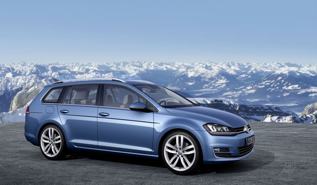 Album - Volkswagen Golf 7 SW (2013)