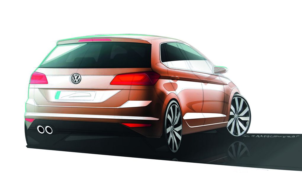 La nouvelle génération du monospace compact de Volkswagen.